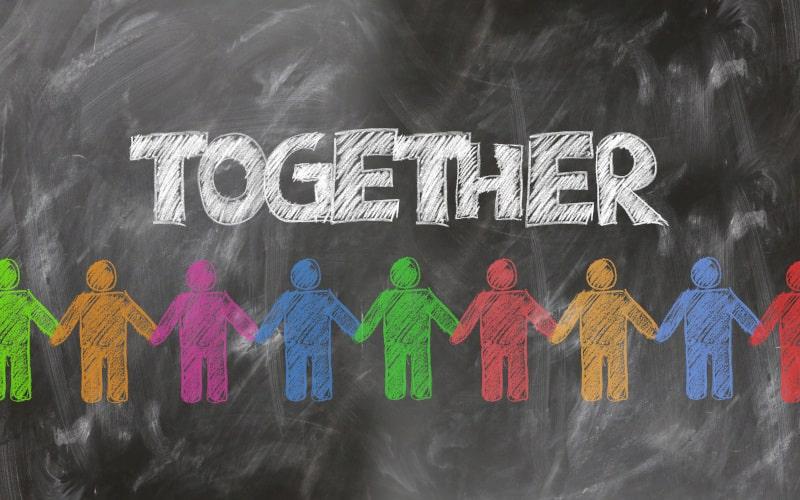 Linking Hands Together